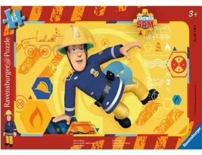 Puzzle 15 elementów - Strażak Sam