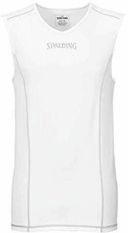 Spalding męski koszulek zespołowy i zestaw, tank top, biały, 4XL