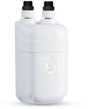 Elektryczny Momentalny Przepływowy Ogrzewacz Wody DAFI IPX4- termoelement z nyplami montażowymi