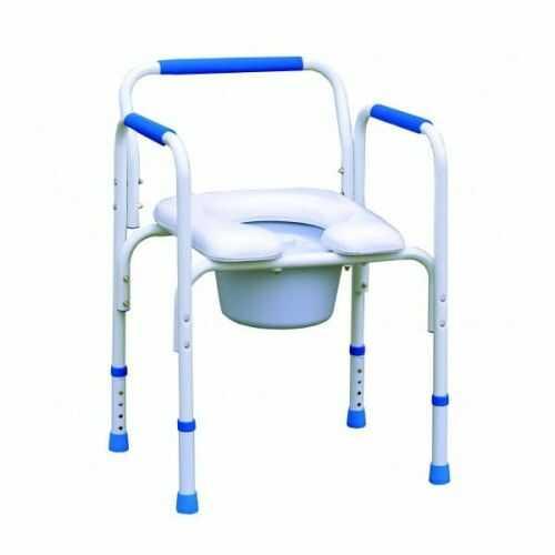 "Fotel sanitarny ALUSTYLE ""4 w 1"" 380004"