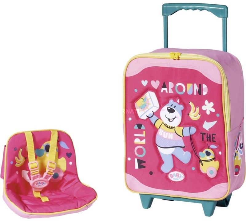 BABY Born - Walizka turystyczna z fotelikiem dla lalki 828441