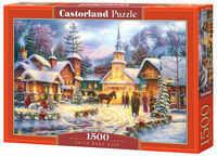 Puzzle Castorland 1500 - Czas świąteczny, Faith Runs Deep