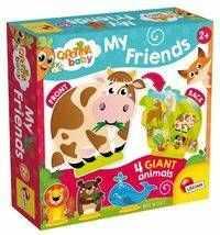 Carotina Baby Moi zwierzęcy przyjaciele - Lisciani