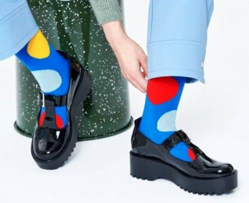 Happy Socks skarpetki JUB01-6300 R.36-40 KROPKI