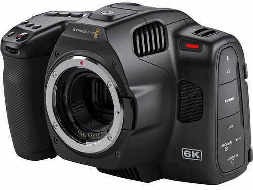 Blackmagic Desing - Pocket Cinema Camera 6K Pro - cyfrowa kamera filmowa Pocket Cinema Camera 6K Pro