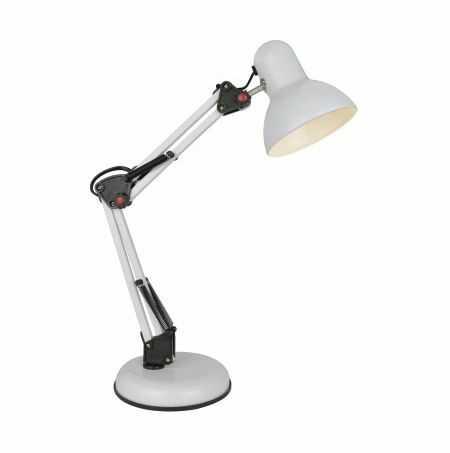 Lampa biurkowa Garita T51S-WH Zuma Line oprawa biurkowa w stylu nowoczesnym