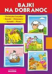 Bajki na dobranoc. Owieczka Lucynka. Kucyki. Dinozaury. Syrenki. Piraci - Ebook.