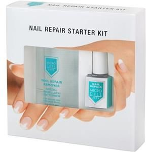 Micro Cell Nail Repair Remover & Nail Repair Classic zestaw zmywacz i odżywka