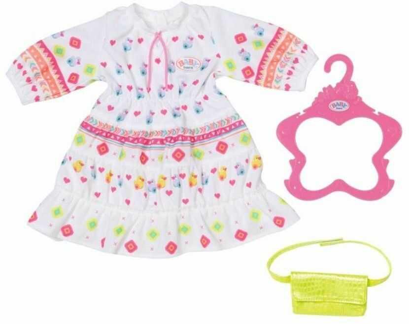 BABY Born - Ubranko Modna sukienka w stylu Boho dla lalki 43 cm 830185