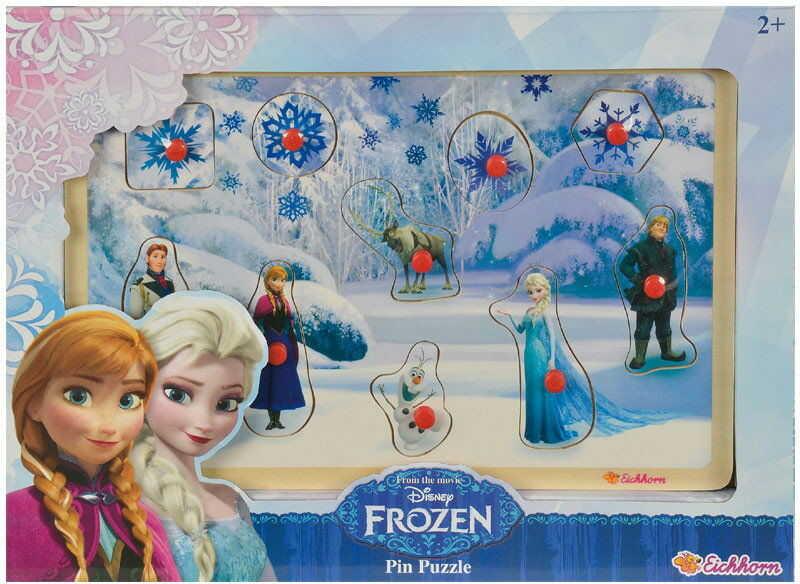 Eichhorn - Puzzle kształty Frozen z filmu Kraina Lodu 10 el. 3371