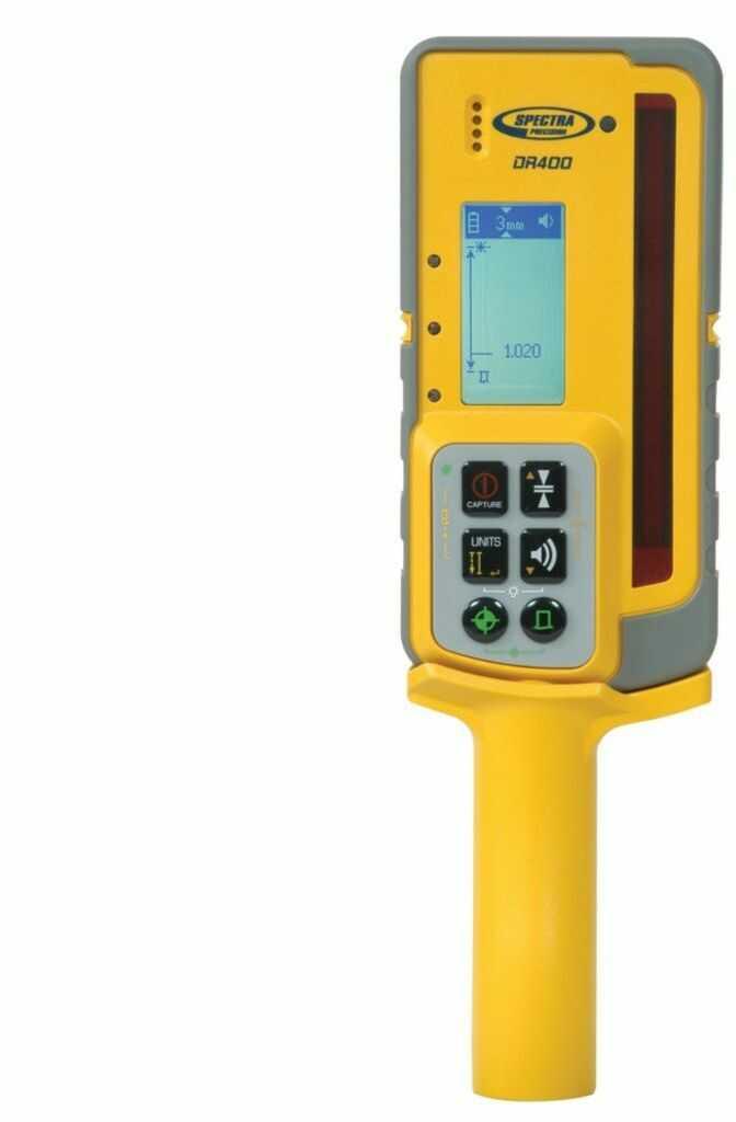 Odbiornik Laserowy Spectra Precision DR400 DIGIROD