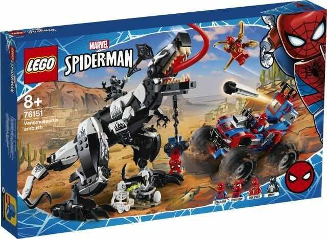 Klocki Spider-Man Starcie z Venomozaurem