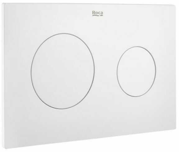 Roca Duplo One PL10 przycisk spłukujący podwójny biały mat A890189207