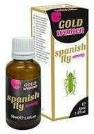 Hiszpańska Mucha dla Kobiet Gold Mocna 15ml 100% DYSKRECJI BEZPIECZNE ZAKUPY