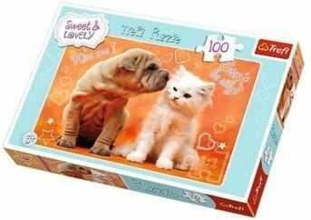 Puzzle TREFL 100 - Całusy, Hugs & kisses