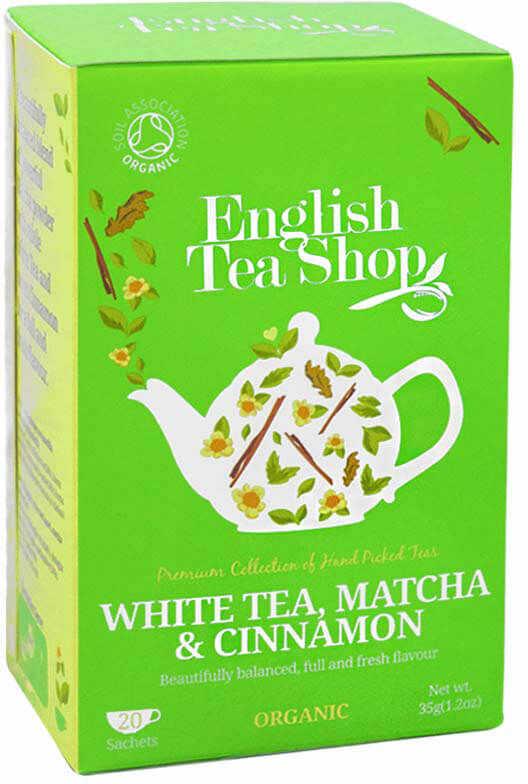 ETS White Tea Matcha Cinnamon 20 sasesztek