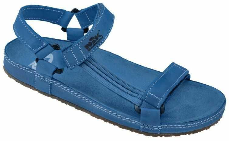 Sandały NIK 07-0090-026 Niebieskie BioForm Fussbett Jezuski