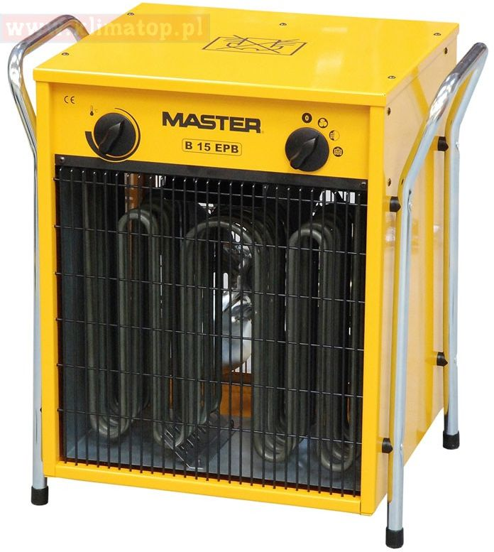 15 kW - Nagrzewnica elektryczna Master B 15 EPB ** WYSYŁKA GRATIS 24h! **
