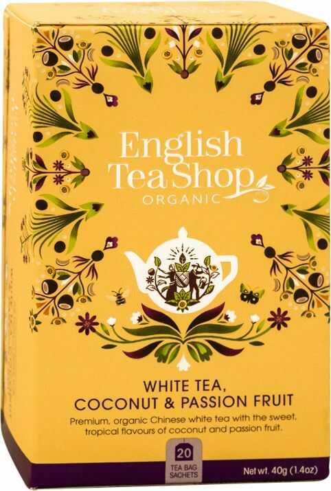 ETS White Tea Coconut & Passion Fruit 20 saszetek