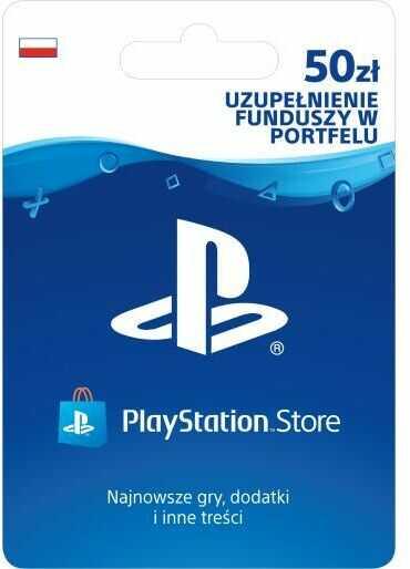 Sony PlayStation Network 50 zł [kod aktywacyjny] Dostęp po opłaceniu zakupu