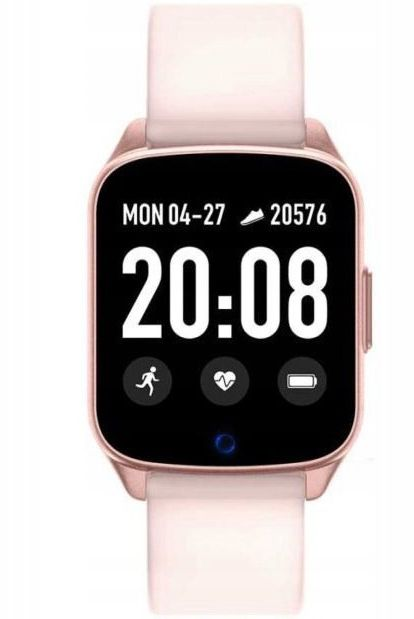 ZEGAREK DAMSKI Rubicon Smartwatch - pink (zr606d)