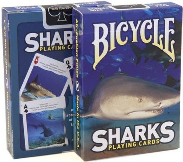 Karty Bicycle Sharks