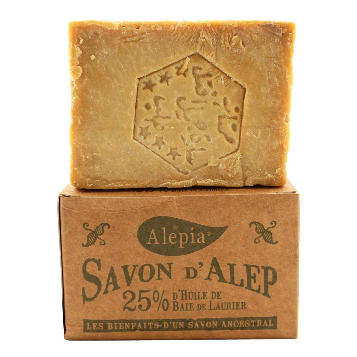 Mydło Alep z Aleppo 25% Laurie - 190g - Alepia