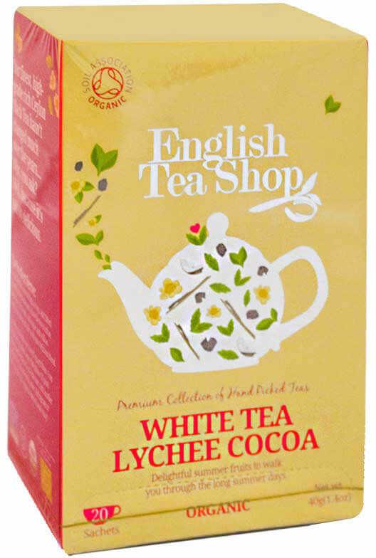 ETS White Tea Lychee Cocoa 20 saszetek