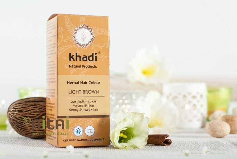 Henna Khadi jasny brąz
