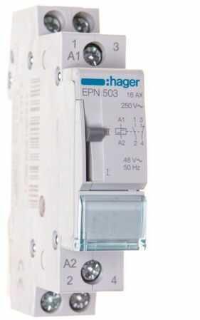 Przekaźnik impulsowy 16A 48V AC 24V DC 1Z+1R EPN503