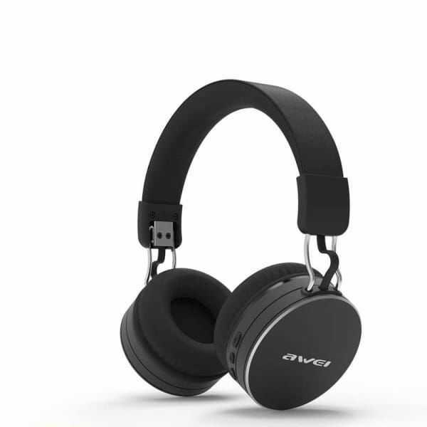 AWEI słuchawki nauszne Bluetooth A790BL czarny/black