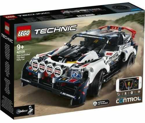 Klocki Technic Auto wyścigowe Top Gear sterowane