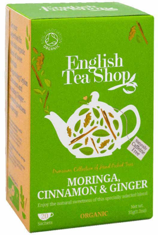 ETS Cinnamon Moringa & Ginger 20 saszetek