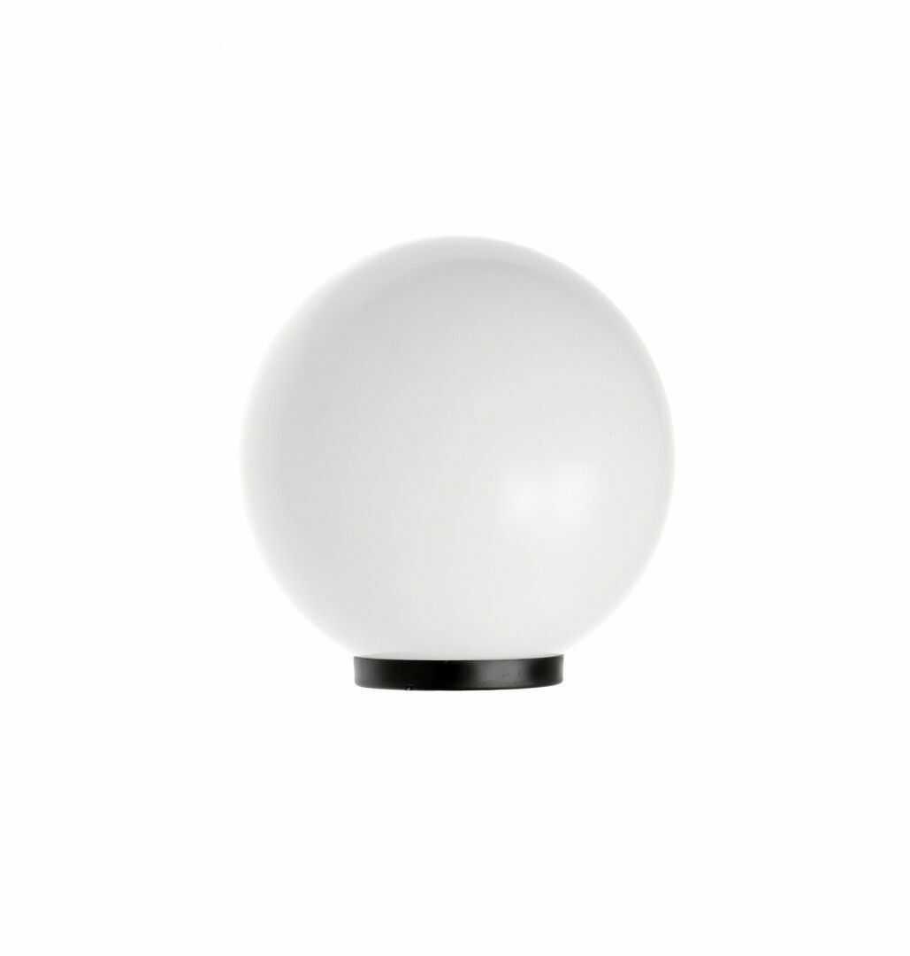Lampa stojąca Alekule G 250 Z biała kula ogrodowa IP44 - Su-ma Do -17% rabatu w koszyku i darmowa dostawa od 299zł !