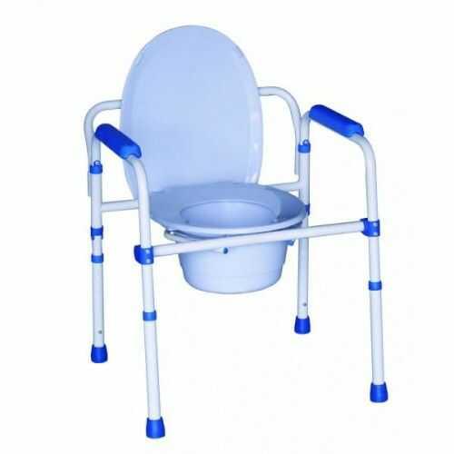 "Fotel sanitarny ALUSTYLE ""3 w 1"" 380002"