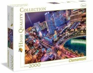 Puzzle Clementoni 2000 - HQ - Las Vegas