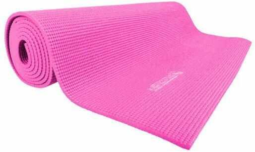 Różowa mata do jogi Insportline PVC 173 x 60 x 0.5 cm