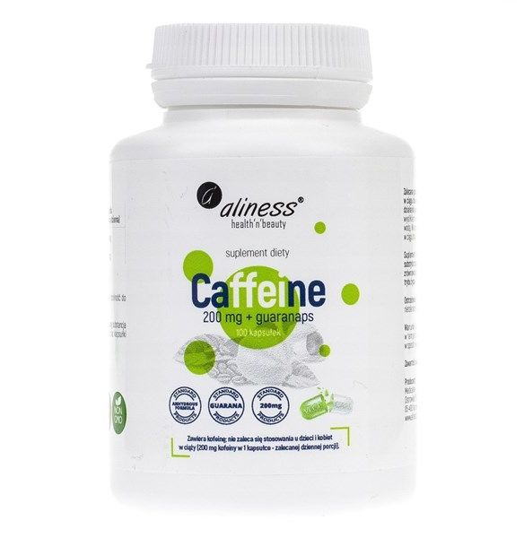 Caffeine 200mg + Guaranaps 100kaps
