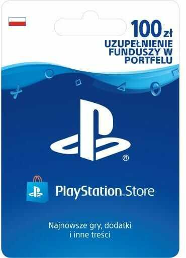Sony PlayStation Network 100 zł [kod aktywacyjny] Dostęp po opłaceniu zakupu