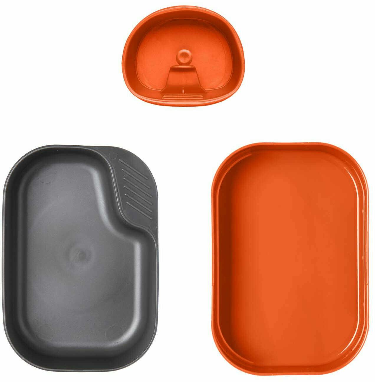 Zestaw turystyczny Wildo/Helikon Camp-A-Box orange/dark grey (SE-CAS-PP-2419A) H