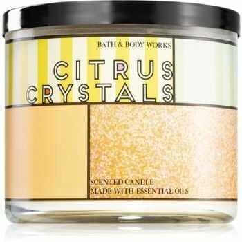 Bath & Body Works Citrus Crystals świeczka zapachowa 411 g