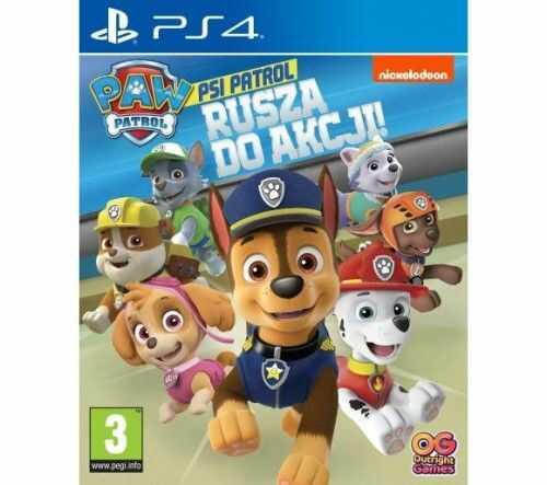 Psi Patrol Rusza do Akcji PS 4