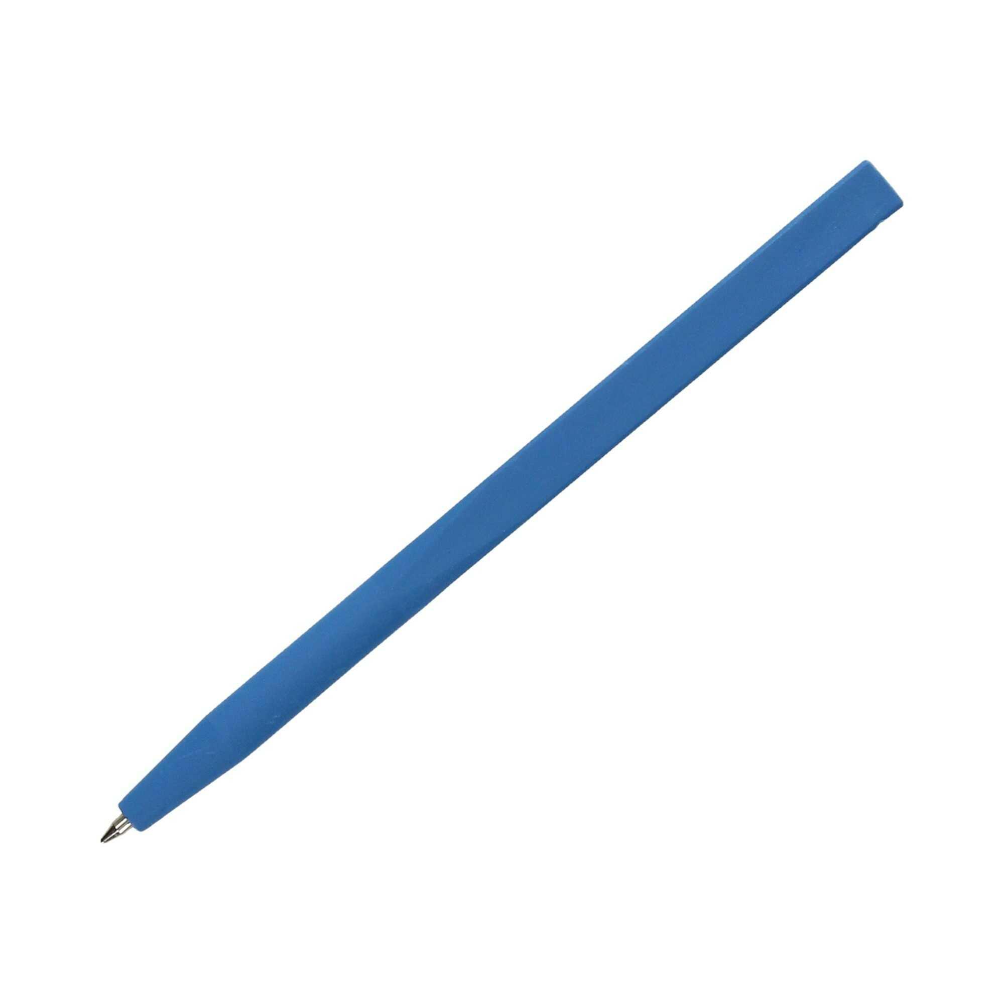 Długopis wykrywalny detektorem metalu niebieski P0519