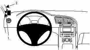 ProClip do Peugeot 3008 09-16