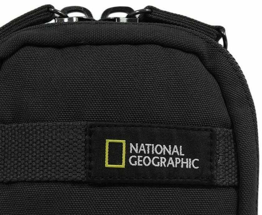 Torba nerka saszetka do paska National Geographic Milestone N14205 RFID