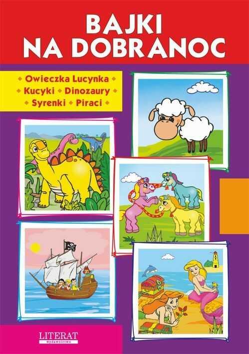 Bajki na dobranoc. Owieczka Lucynka. Kucyki. Dinozaury. Syrenki. Piraci - Krystian Pruchnicki - ebook