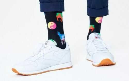 Happy Socks skarpetki YYC01-9300 R.36-40 YING YANG