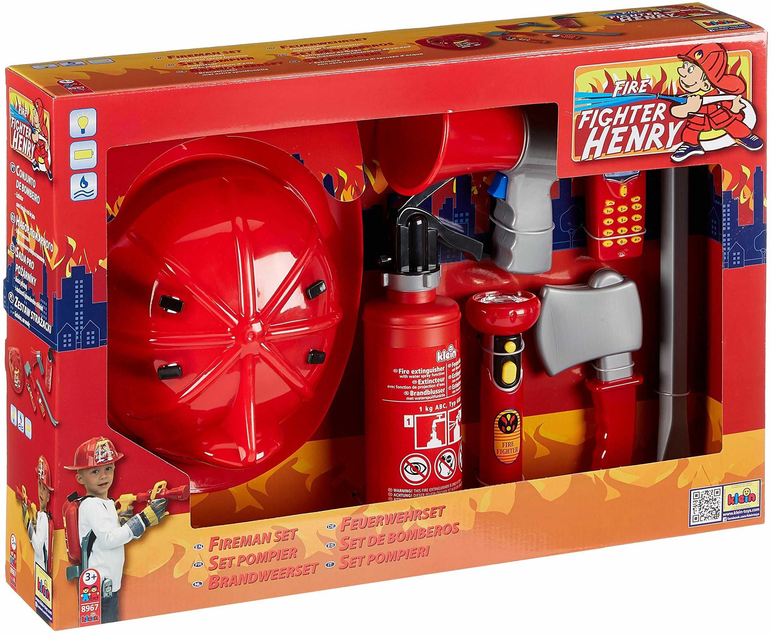 Theo Klein 8967  zestaw strażacki