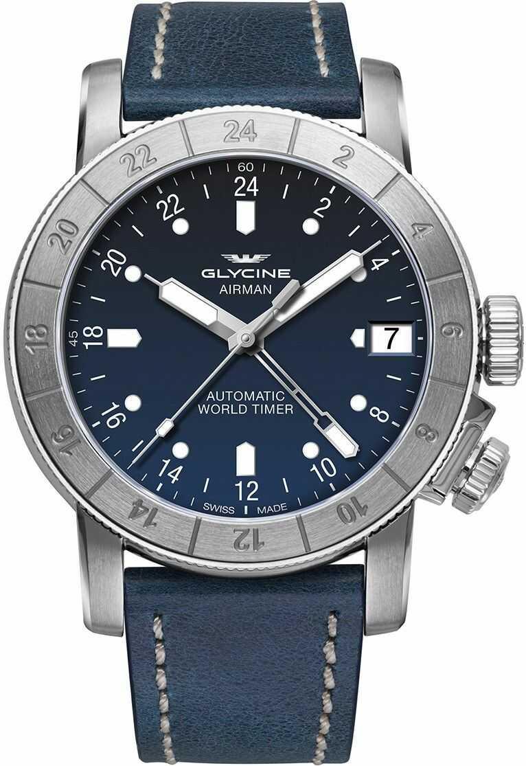 Zegarek Glycine GL0060 AIRMAN - CENA DO NEGOCJACJI - DOSTAWA DHL GRATIS, KUPUJ BEZ RYZYKA - 100 dni na zwrot, możliwość wygrawerowania dowolnego tekstu.