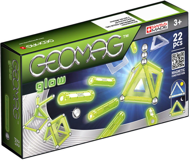 Geomag - Klocki magnetyczne - Glow panels 22 el. 334